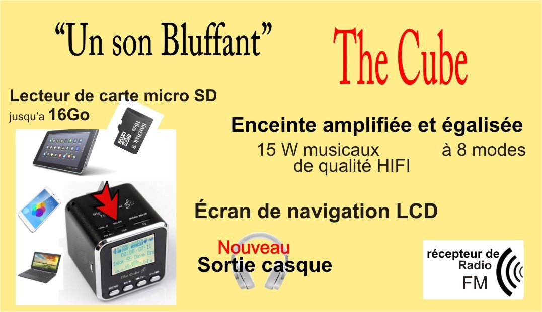 présentation the cube high tech deal music angel