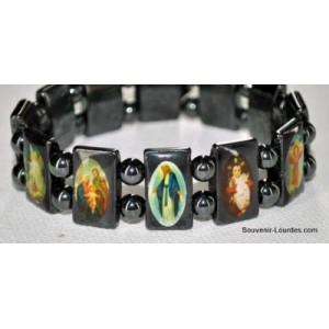 Bracelet de Lourdes en hématite