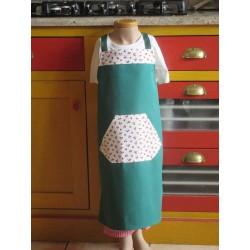 tablier cuisine coton personnalisé cerises 5 ans