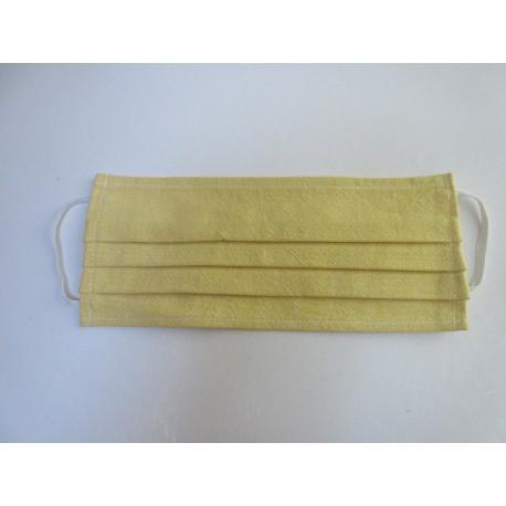 Masque anti-postillons en coton lavable et réutilisable