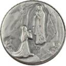 Medal apparition at Lourdes 25mm